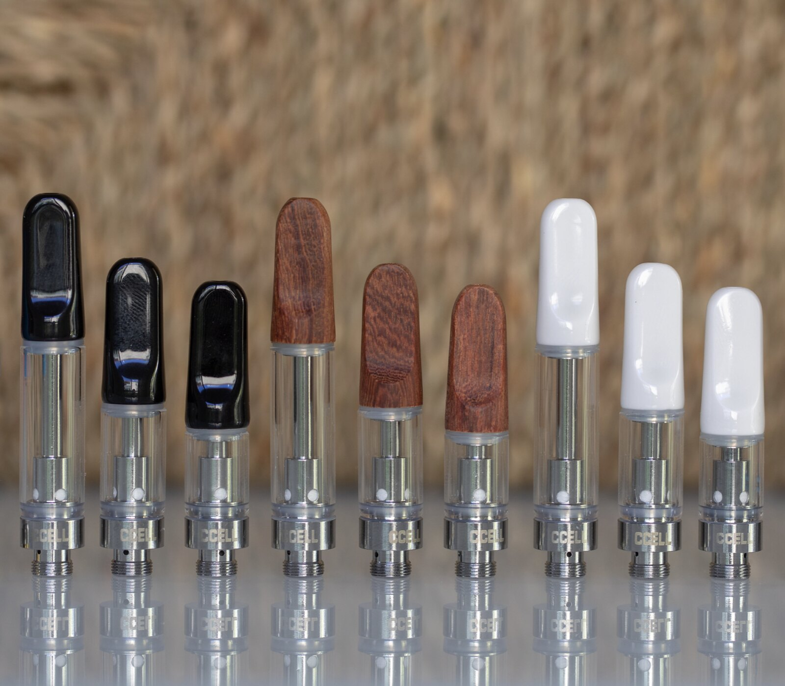 CCell TH2 oil cartridge options